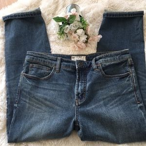 Free People Cropped Jeans 29